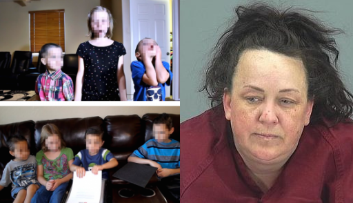 ' YouTube mom' Machelle Hackney, is accused of starving, beating, locking up and pepper spraying her seven adopted children to force them to perform in videos which got millions of views